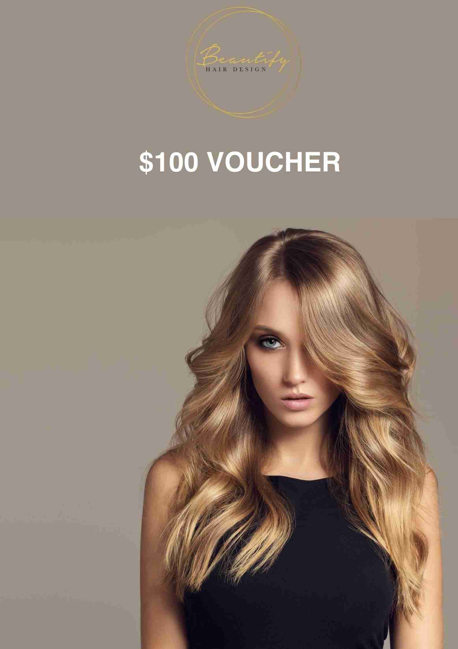 $100 Gift Voucher For Instore Redemptions