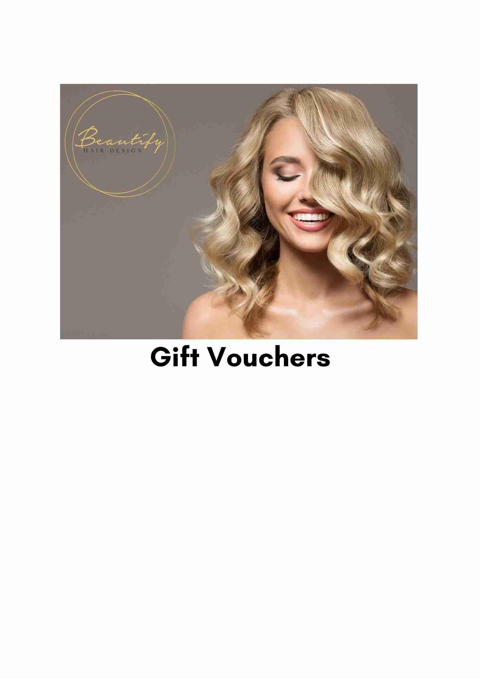 Beautify Gift Vouchers