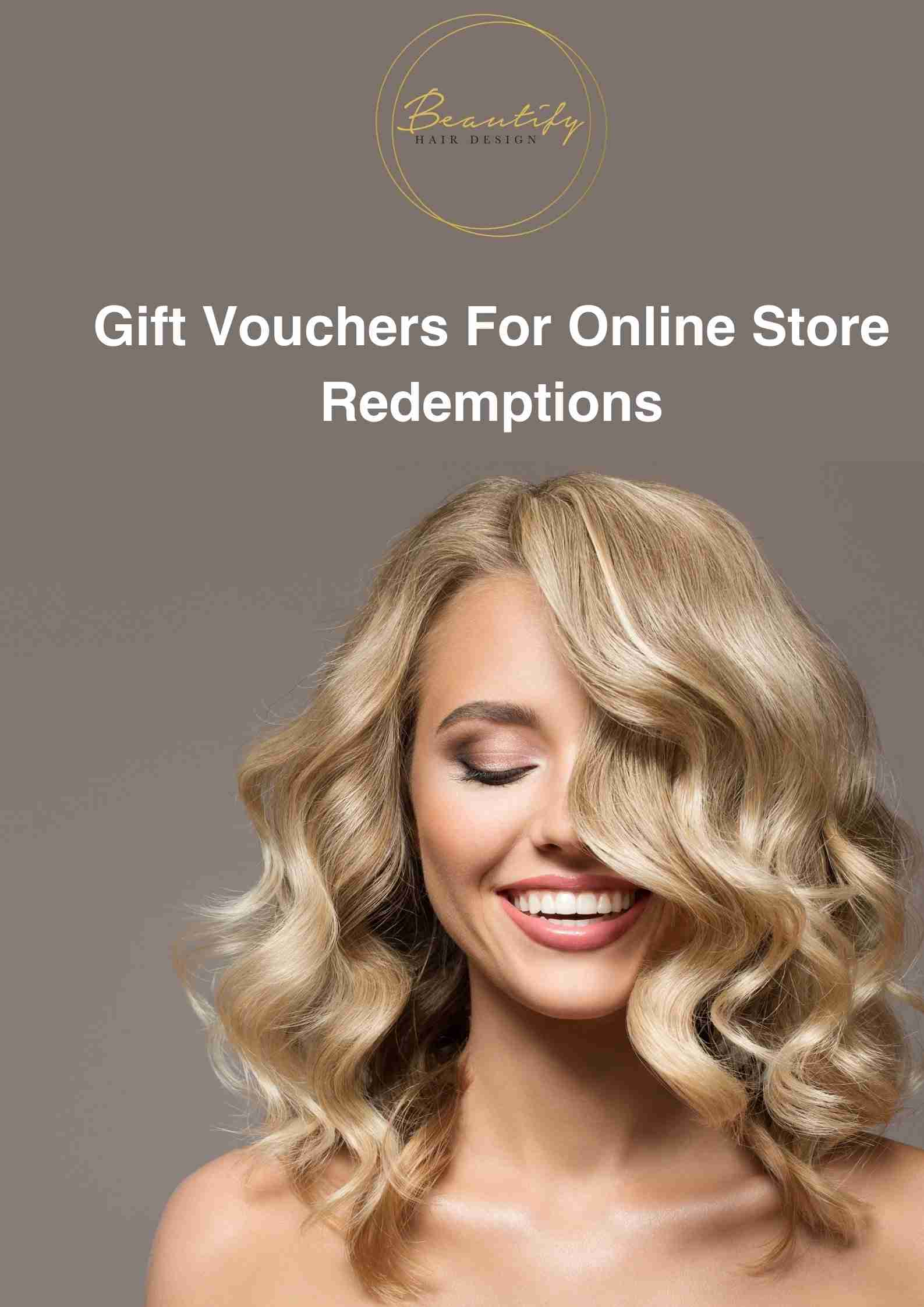 Gift Vouchers For Online Store Redemption