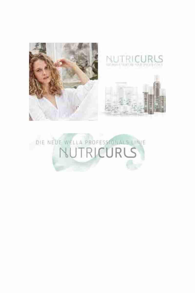 Nutricurls- Wella Professional Curl Range