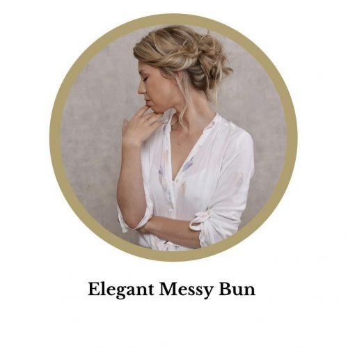 Elegant Messy Bun